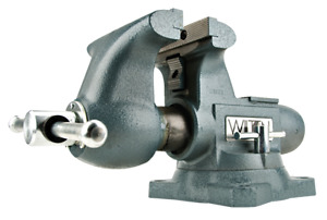 WILTON 6-1/2 in. Tradesman Round Channel Vise with Swivel Base