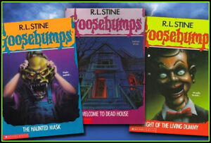 Looking for Goosebumps Books