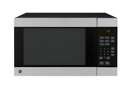 Attractive The Stainless Steel Microwave Has Everything Needed To Cook, Pre Heat, Or  Defrost Foods Easily In The Dorm Room. Part 18