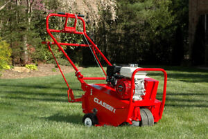 Professional lawn aeration core aerating for $30