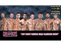Fabulous evening The dreamboys live on stage with coctail and buffet