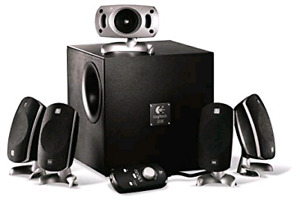 logitech z-5300 speakers thx