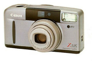 Canon Sure Shot Zoom Lens Z115 Caption Camera New Price!