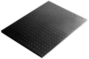 Rubber Floor Mat Checker Plate for Barns, Shops, and Gyms!