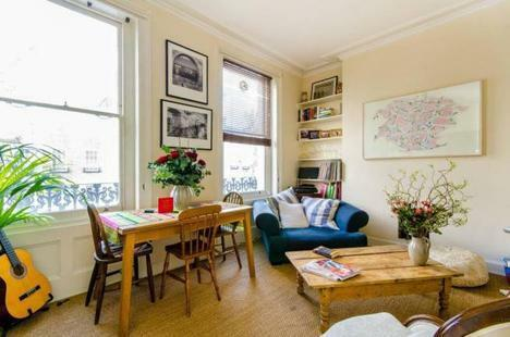 PERIOD CONVERSION 1 BEDROOM FLAT LOCATATED IN N1 WITH GREAT TRANSPORT LINKS