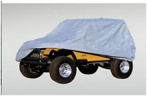 Housse HD Full Car Cover Wrangler TJ 97-06 GRISE