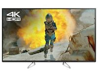 """Panasonic TV 49""""EX600B LED HDR 4K unwanted gift used for 24 hours. Boxed as new."""