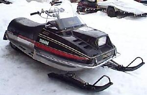 Snowmobile could be fixed up or parted out but need it gone