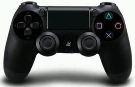 Black ps4 controllers