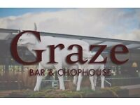 Immediate start Kitchen Porter Graze Bar & Chophouse - Bath