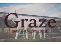 Assistant Manager Graze Bar & Chophouse BATH ALES £22k-£24k