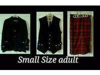 Kilt outfit (Womans)