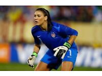 PAID FEMALE GOALKEEPERS WANTED IN LONDON
