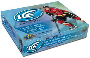 2016-17 Upper Deck Ice Hockey Now Available @ Breakaway