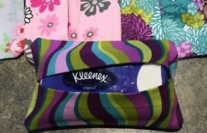 Tissue or pad holder for purse/ bag