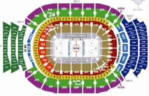 ACC Club Seats - LEAFS vs WINGS - $500/pair Section 108 Reds
