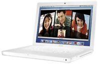 "Apple MacBook 13.3"" 2.0 C2D, 4 Gigs Ram, 160 Gig Hard Drive"