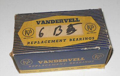 NOS Ancient Vandervell Main Bearings for Hillman Minx III-VI & Husky I. +.040