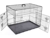 Large dog crate similar to the one above