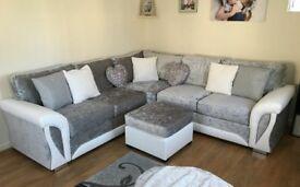 Free footstool with Scs corner sofa