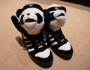 Jeremy Scott Adidas Js Panda Bear U42612-100 - US size 10 Rozelle Leichhardt Area Preview
