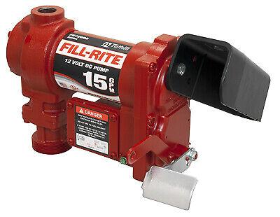 Fill Rite Dc Pump Cast Iron 15 Gpm 12-volt