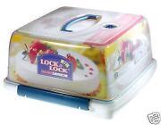 Plastic Cake Storage