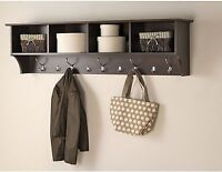 """48"""" Wide Hanging Entryway Shelf, Free Delivery and Installation"""