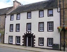AVAILABLE NOW: Quirky open plan 1-bed flat in quiet location in Cupar