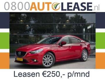 Mazda 6 2.2D 110KW Sedan | Lease € 250,– per mnd