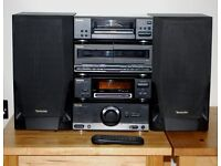 Technics Hi-Fi System Including ** Class A Amp ** Complete System Including Speakers and Remote
