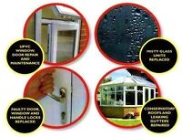 Window and door fitter, glazier, glass, locksmith, window repairs, plastics, double glazing, plastic
