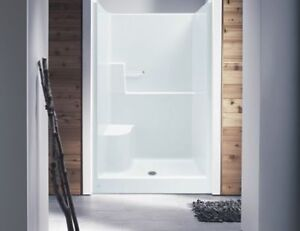 shower stall 48x36 right hand seat