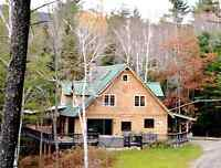 Deluxe Adirondack Lodge with Views at ADKViews