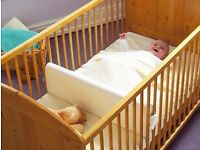 Fot cots/ cotbeds - Cot Divider - Safababy Sleeper