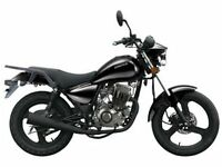 ZONTES TIGER 125 CUSTOM, CRUISER, COMMUTER, MOTORBIKE, NEW, FINANCE AVAILABLE, TWO YEAR WARRANTY