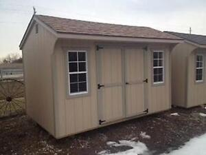 8'x12' Double Door Shed - Low Maintenance