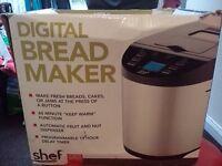 Brand New Shef Digital Breadmaker