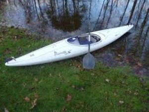 two Perception Pirouette kayaks models S & SuperSport  pristine!