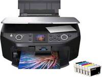 Epson RX585 Printer with New Set of Inks