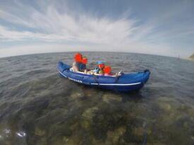 Sevylor double inflatable kayak