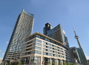 Furnished luxury Condo 1+1 bedroom with wifi Spadina&Front