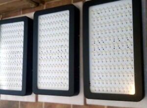 VERY BRIGHT Full Spectrum+ LED Grow Lights, 800w