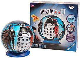 Dr Who puzzle ball