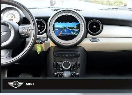 mini cooper autoradio full navigatie dvd usb carkit mini onderdelen. Black Bedroom Furniture Sets. Home Design Ideas