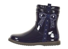 Navy Lelli Kelly boots size 6 EU 23 brand new in box
