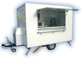 WANTED - DAMAGED / PROJECT - CATERING TRAILERS / BURGER VAN / BOX TRAILERS