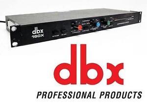 USED DBX COMPRESSOR/LIMITER - 107437779 - DBX Model 160X Compressor/Limiter - 160-X Comp Vintage VCA