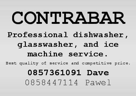 dishwasher, glasswasher, ice machine service