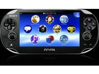 Ps Vita swap for a mobile phone.